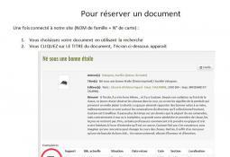 CONDRIEU - Réservation : comment faire ?
